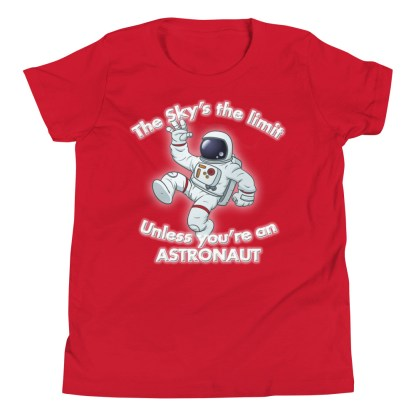 airplaneTees The Sky's the limit tee youth - Option 1... Youth Short Sleeve T-Shirt 1