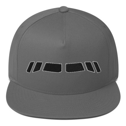 airplaneTees Boeing 767 Cockpit windows Cap... Flat Bill 2