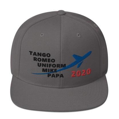 airplaneTees TRUMP 2020 Hat- Black... Snapback Hat 2