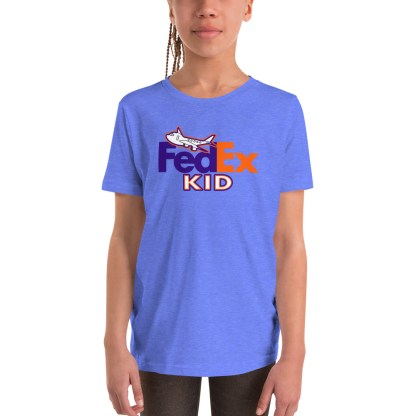 airplaneTees FedEx Kid Youth Tee... Short Sleeve T-Shirt 2