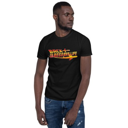 airplaneTees BACK to the RESERVE LIFE Tee... Short-Sleeve Unisex 2
