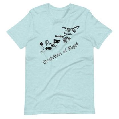 airplaneTees Evolution of Flight... Short-Sleeve Unisex T-Shirt 14