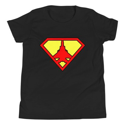 airplaneTees Super Fighter Pilot Youth Tee... Short Sleeve 3