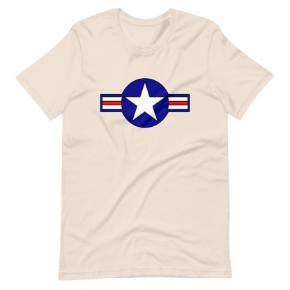 airplaneTees Roundel US Armed Forces Tee... Short-Sleeve Unisex 8