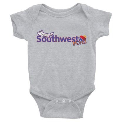 airplaneTees Southwest Kid Onesie... Rabbit Skins... Infant Bodysuit 1