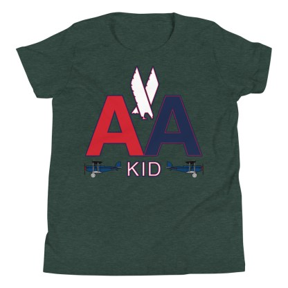 airplaneTees American Kid Youth Tee... Short Sleeve 4