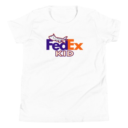 airplaneTees FedEx Kid Youth Tee... Short Sleeve T-Shirt 5