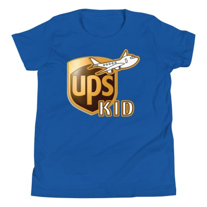 airplaneTees UPS Kid Youth Tee... Short Sleeve T-Shirt 8