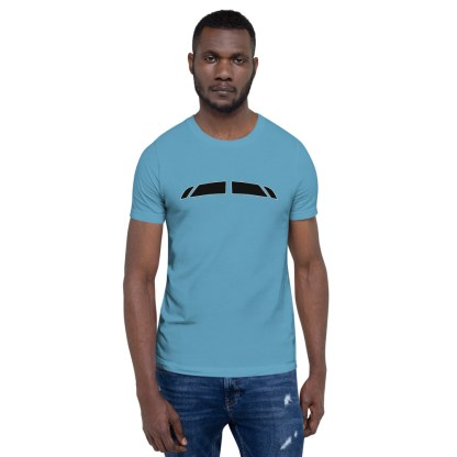 airplaneTees Bombardier CRJ900 Cockpit Windows Tee... Short-Sleeve Unisex 2