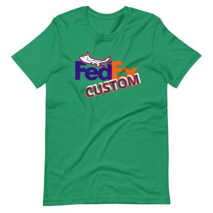 airplaneTees CUSTOM FedEx Tee Guy/Gal Tee Short-Sleeve Unisex 7
