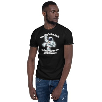 airplaneTees The Sky's the limit tee - Option 1... Short-Sleeve Unisex 2