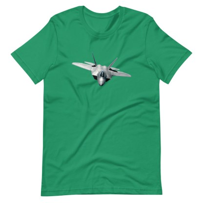 airplaneTees F22 Front View... Short-Sleeve Unisex T-Shirt 12