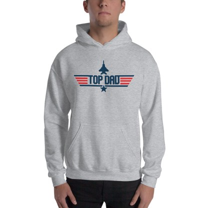 airplaneTees Top Dad Hoodie, Maverick Style 2