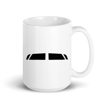 airplaneTees Bombardier CRJ900 Cockpit Windows Mug 5