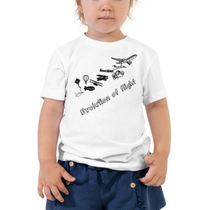 airplaneTees Evolution of Flight Toddler Tee... Short Sleeve 3