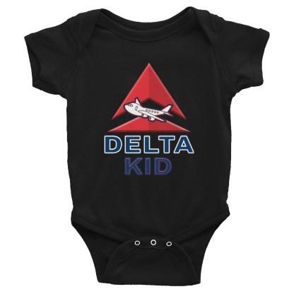 airplaneTees Delta Kid Onesie... Rabbit Skins... Infant Bodysuit 3