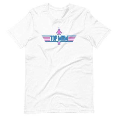 airplaneTees Top Mom tee in Pink... Short-Sleeve Unisex 6