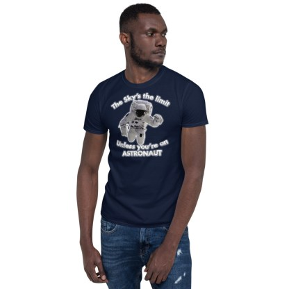airplaneTees The Sky's the limit tee - Option 2... Short-Sleeve Unisex 2