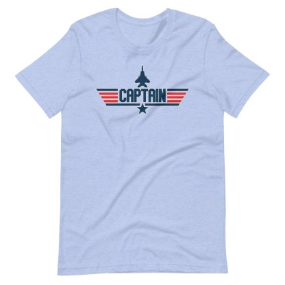 airplaneTees Captain Maverick Style Tee... Short-Sleeve Unisex 13