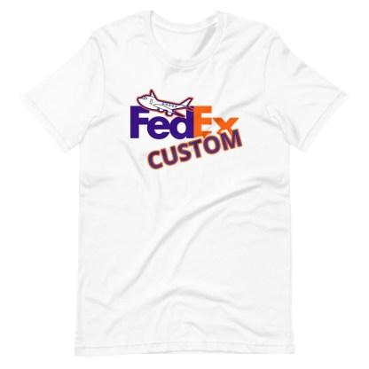 airplaneTees CUSTOM FedEx Tee Guy/Gal Tee Short-Sleeve Unisex 1
