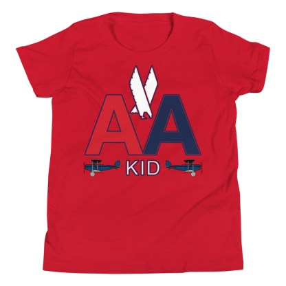 airplaneTees American Kid Youth Tee... Short Sleeve 12