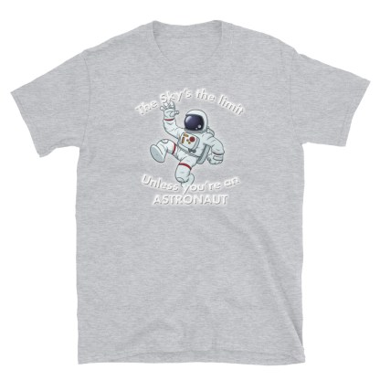 airplaneTees The Sky's the limit tee - Option 1... Short-Sleeve Unisex 9