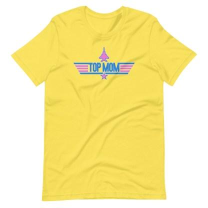 airplaneTees Top Mom tee in Pink... Short-Sleeve Unisex 13