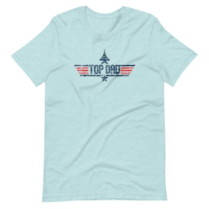 airplaneTees TOP DAD Tee(weathered look)... Short-Sleeve Unisex 10