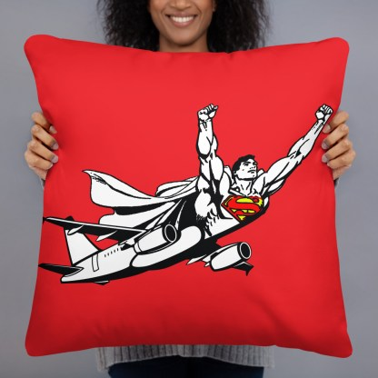 airplaneTees SuperPlane Pillow 3