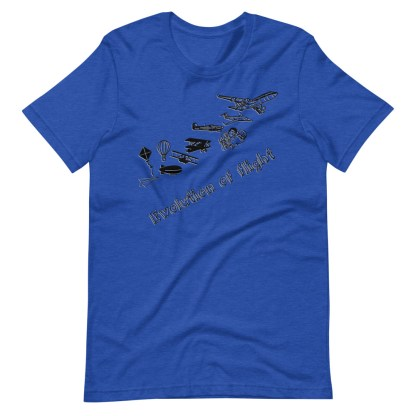 airplaneTees Evolution of Flight... Short-Sleeve Unisex T-Shirt 16