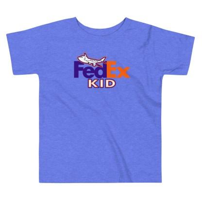 airplaneTees FedEx Kid Toddler Tee... Short Sleeve 6
