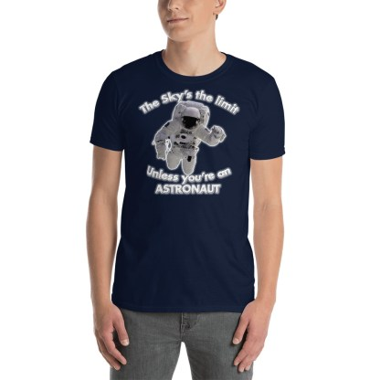 airplaneTees The Sky's the limit tee - Option 2... Short-Sleeve Unisex 4