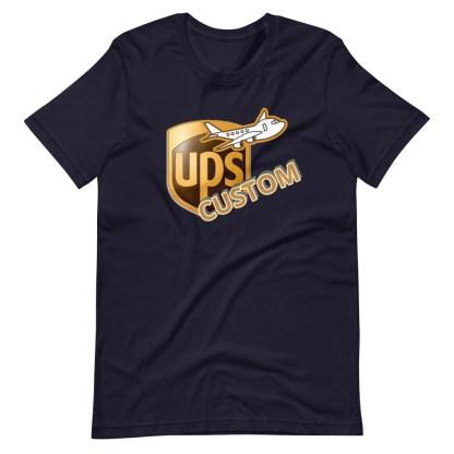 airplaneTees CUSTOM UPS Guy/Gal/Dad/Mom Tee Short-Sleeve Unisex 7