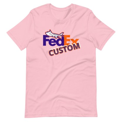 airplaneTees CUSTOM FedEx Tee Guy/Gal Tee Short-Sleeve Unisex 12
