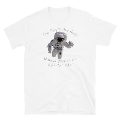 airplaneTees The Sky's the limit tee - Option 2... Short-Sleeve Unisex 6