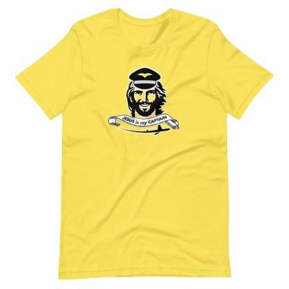 airplaneTees Jesus is my Captain tee... Short-Sleeve Unisex 1