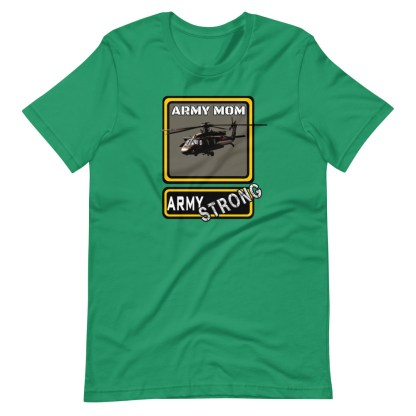 airplaneTees PERSONALIZE IT - Army Strong Tee, Army Mom, Dad, Rank, Class you name it. Short-Sleeve Unisex T-Shirt 13