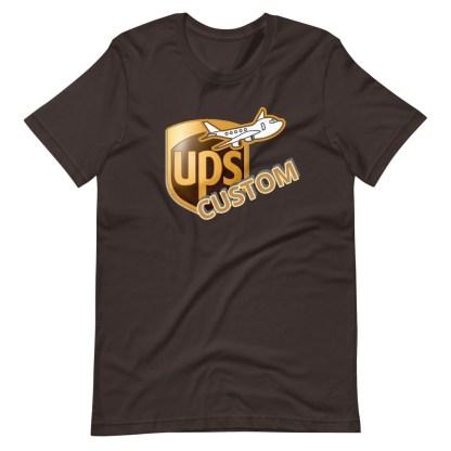 airplaneTees CUSTOM UPS Guy/Gal/Dad/Mom Tee Short-Sleeve Unisex 1