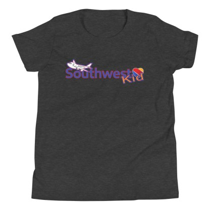 airplaneTees Southwest Kid Youth Tee... Short Sleeve T-Shirt 5