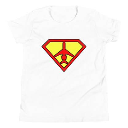 airplaneTees SuperCRJ Pilot Tee... Youth Short Sleeve 9