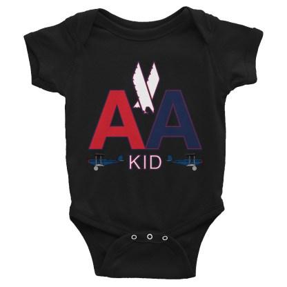 airplaneTees American Kid Onesie Rabbit Skins... Infant Bodysuit 3