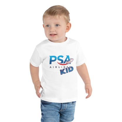 airplaneTees PSA Airlines Kid toddler tee... Short Sleeve 2