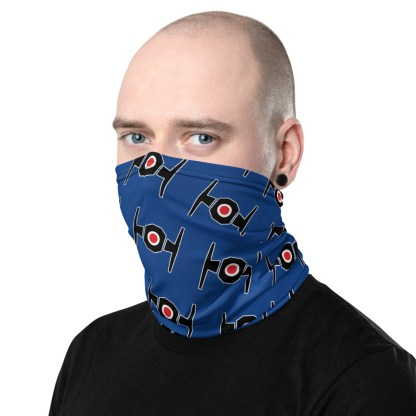 airplaneTees Tie Fighter Face Mask/Face Covering/Neck Gaiter 3