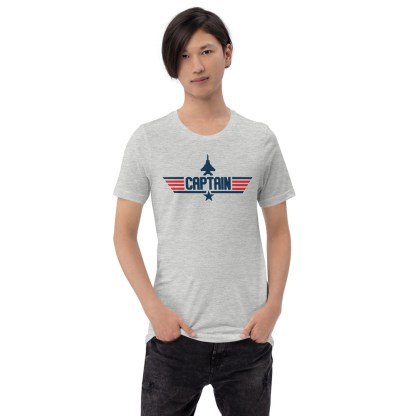 airplaneTees Captain Maverick Style Tee... Short-Sleeve Unisex 3