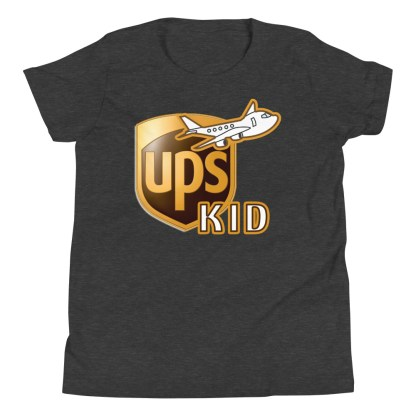 airplaneTees UPS Kid Youth Tee... Short Sleeve T-Shirt 6