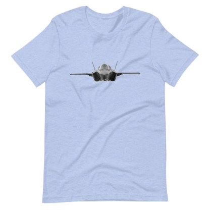 airplaneTees F35 Front View... Short-Sleeve Unisex T-Shirt 13