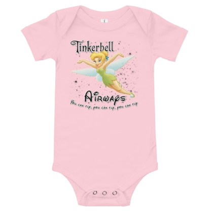 airplaneTees Tinkerbell Airways Onesie 1