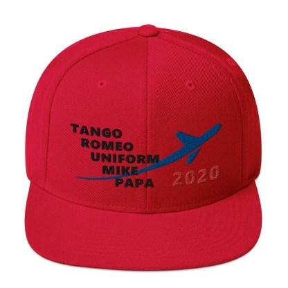 airplaneTees TRUMP 2020 Hat- Black... Snapback Hat 8