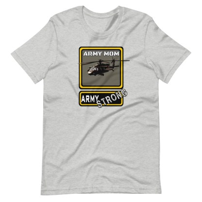 airplaneTees PERSONALIZE IT - Army Strong Tee, Army Mom, Dad, Rank, Class you name it. Short-Sleeve Unisex T-Shirt 11