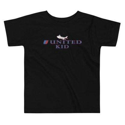 airplaneTees United Kid Toddler Tee... Short Sleeve 4